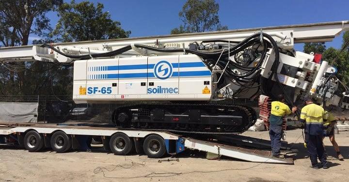 Soilmec Drilling Rig SF 65