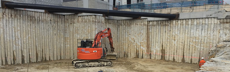 Secant Piling Walls Asp Piling Australian Dewatering Systems